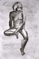 Figure Drawing 4 - by Xier by ongzx