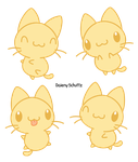 Yellow Cat by Daieny