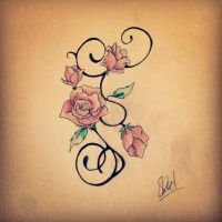 Romantic Roses by iSherie