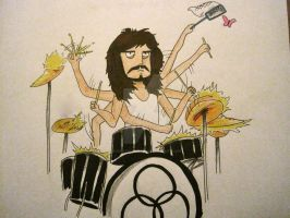 John Bonham by RushYesZeppelin