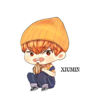 EXO Xiumin Chibi PNG by SooyoungLover