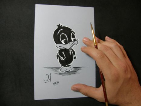 Little Daffy Duck by GeovannyFons