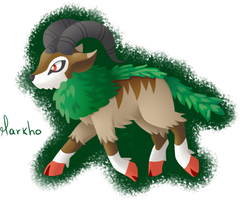 Markho - Gogoat by Eifi--Copper