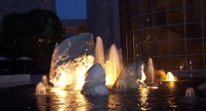 getty - lit fountain by bunnytrybe
