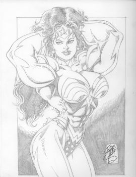 Wonder Woman Abs by up2nogd1