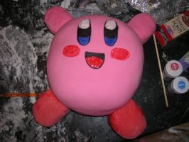 Kirby cake by doubleohsquee
