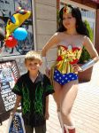 Wonder Woman and fan by AlisaKiss