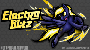 Commission: Fighting is Magic - Electro Blitz by Groxy-Cyber-Soul