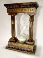Egyptian Sand Timer by disturbedstock