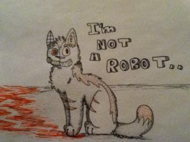Not a Robot by jaspering