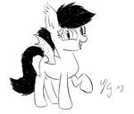 Filly Bat Pony by MorrodertheFreakyGuy