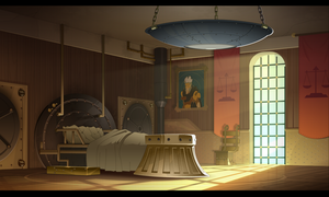 Justice 's bedroom wakfu by cyrilcorallo