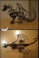 Pipe cleaner dragon by TalonArt