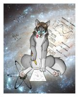 Wolf likes physics by White-Mantis