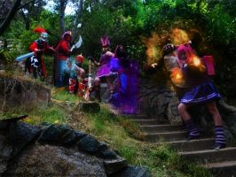 Team cosplay League of legends Chile by RosseSinner