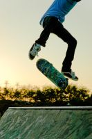 Kick Flip by Mitchography
