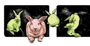 Space Bunnies by besnglist