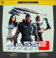 Mass Effect 2 v2 without Samara - ICON by IvanCEs