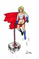 Power-girl by didism