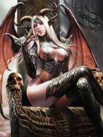 Succubus Twin Bovina by german1706
