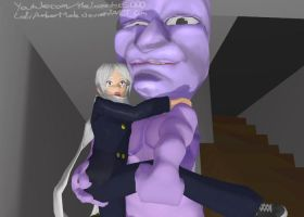 MMD - In Ao Oni's Pants by LolliiAmberMoule