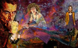 River Song and the Doctor - Regeneration by evisionarts