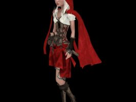 'Woolfe: Demo' Red Riding Hood XPS ONLY!! by lezisell