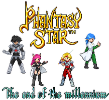 Phantasy Star IV DP Sprites by StellarWind