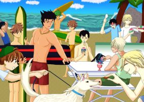 Horitsuba beach- boys by laemander