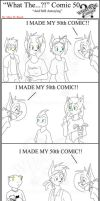 'What The' Comic 50 by TomBoy-Comics