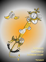 arrullo mecanico -clockwork lullaby- by portadorX
