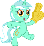 Chibi Lyra - 'I have a hand!' by Infinitoa