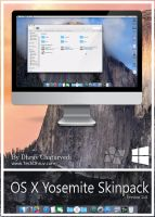 Mac OS X Yosemite Skinpack v2 For Windows 8/8.1/7 by TheDhruv