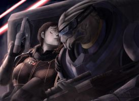 Mass Effect: Love by Armesan