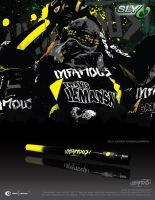 Sly Paintball Team Infamous Ad by Gierka-Design