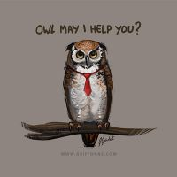 DD8 - Business Owl by joanniegoulet