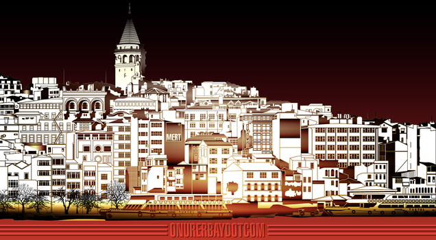 Gradient Galata by onure