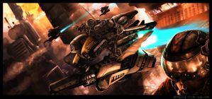 Killer Bees by sekido54