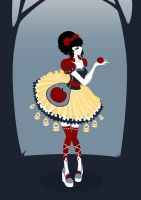Lollita Snow White by WhisperTheHavoc