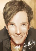 Happy birthday Benedict ! by AzurLazuly