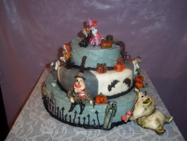 nightmare before christmas back side by marandaschmidt