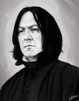 Snape by LiaBatman