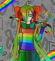 Wandy: colors of the rainboww by KlownCat