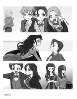 Doctor Who: 11th and his companion by 00riko