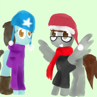 Merry Christmas PonyPwners! by Alleg1000