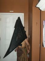Pyramid Head came to play too! by CronaBaby