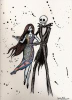 jack and sally by badash13