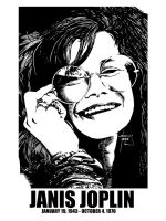 DSS No. 48 - Janis Joplin by gothicathedral
