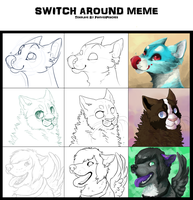 Switch around meme! 2 by PaintedPeaches