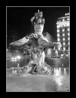 Fountain of Neptune by Jerekh